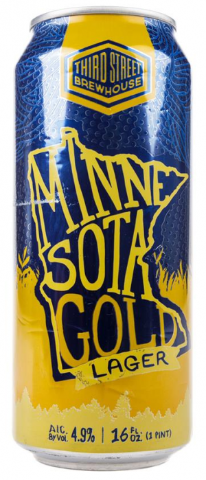 Minnesota Gold by Third Street Brewhouse in Minnesota, United States