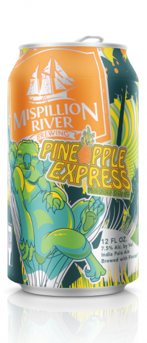 Pineapple Express by Mispillion River Brewing in Delaware, United States