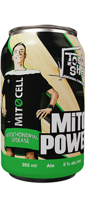 Mito Power by Tool Shed Brewing Company in Alberta, Canada