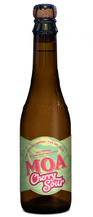 Cherry Sour 2014 by Moa Brewing Company in Marlborough, New Zealand