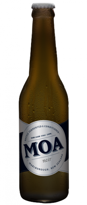 Noir by Moa Brewing Company in Marlborough, New Zealand