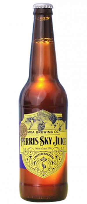 Perris Sky Juice by Moa Brewing Company in Marlborough, New Zealand