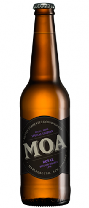 Royal by Moa Brewing Company in Marlborough, New Zealand