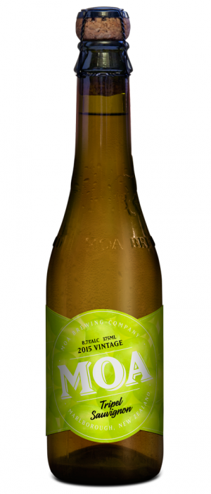 Tripel Sauvignon by Moa Brewing Company in Marlborough, New Zealand