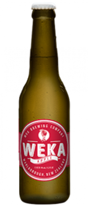 Weka Apple Cider by Moa Brewing Company in Marlborough, New Zealand