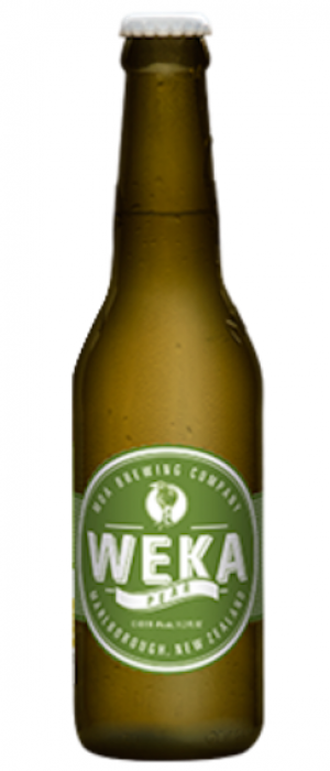 Weka Pear Cider by Moa Brewing Company in Marlborough, New Zealand