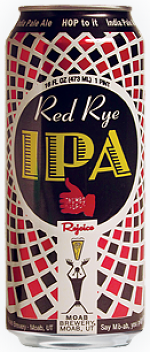 Red Rye IPA by Moab Brewery in Utah, United States