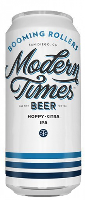Booming Rollers by Modern Times Beer in California, United States