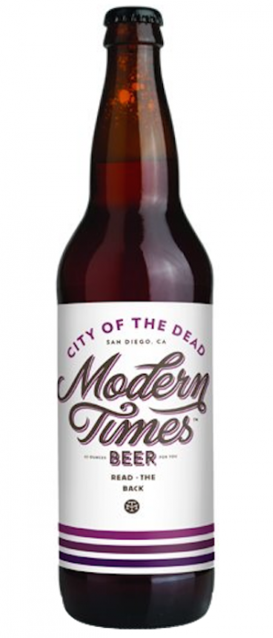 City Of The Dead by Modern Times Beer in California, United States