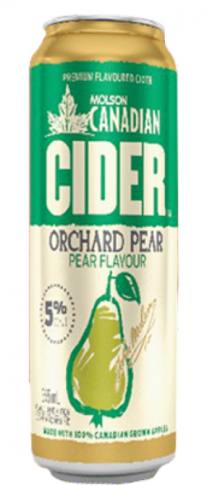 Orchard Pear Cider by Molson Coors in Colorado, United States