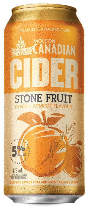 Stone Fruit Cider by Molson Coors in Colorado, United States