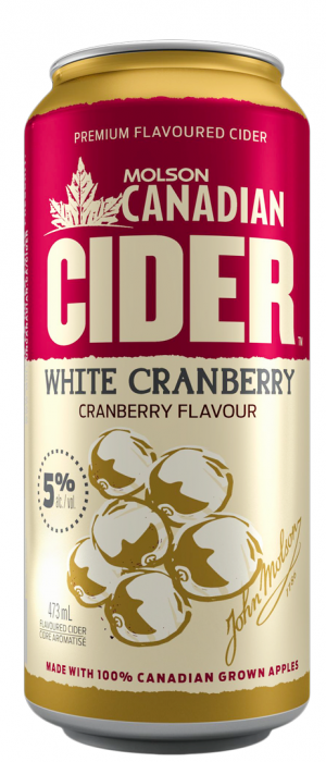 White Cranberry Cider by Molson Coors in Colorado, United States