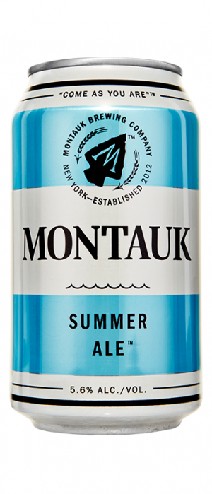 Summer Ale by Montauk Brewing Company in New York, United States