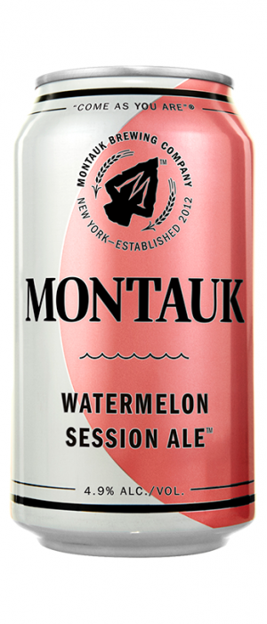 Watermelon Session Ale by Montauk Brewing Company in New York, United States