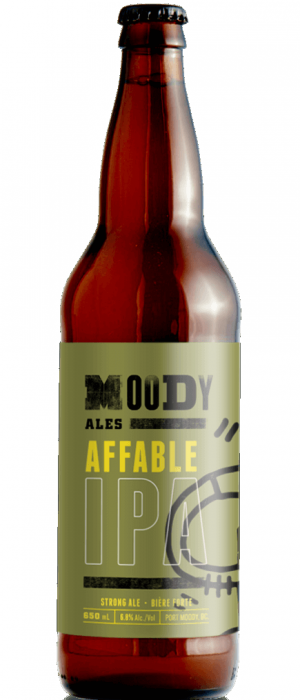Affable IPA by Moody Ales in British Columbia, Canada