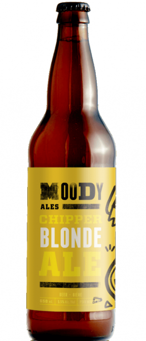 Chipper Blonde Ale by Moody Ales in British Columbia, Canada