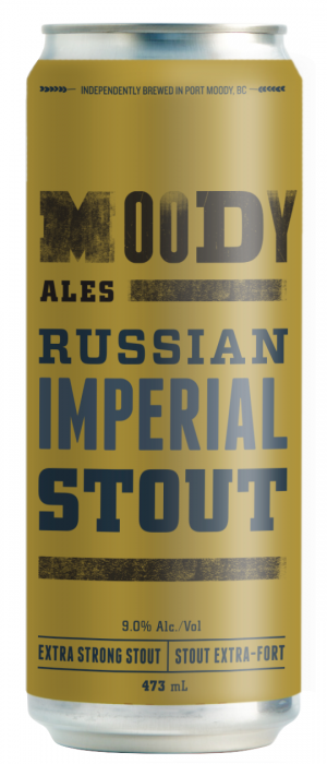 Russian Imperial Stout by Moody Ales in British Columbia, Canada