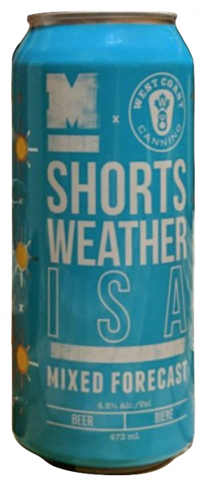 Mixed Forecast: Shorts Weather ISA by Moody Ales in British Columbia, Canada