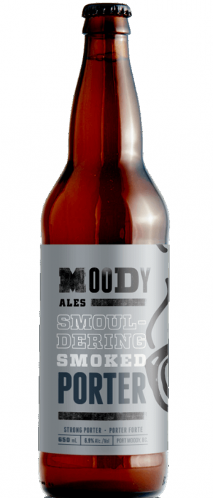 Smouldering Smoked Porter by Moody Ales in British Columbia, Canada