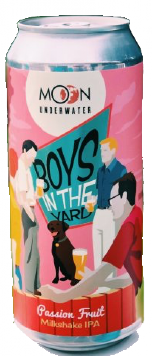 Boys in the Yard by Moon Under Water Brewpub in British Columbia, Canada