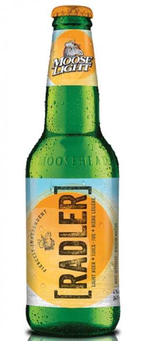 Moose Light Radler by Moosehead in New Brunswick, Canada