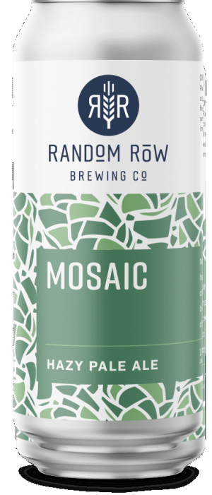 Mosaic Pale Ale by Random Row Brewing Co. in Virginia, United States