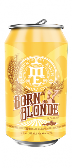 Born Blonde Blonde Ale by Mother Earth Brew Co. in California, United States