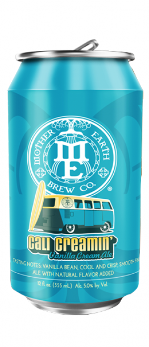 Cali Creamin' by Mother Earth Brew Co. in California, United States