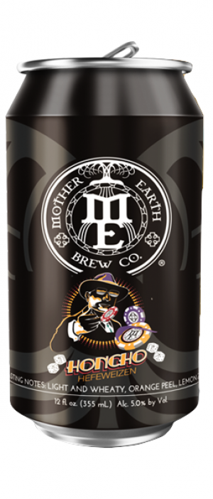 Honcho Hefeweizen by Mother Earth Brew Co. in California, United States