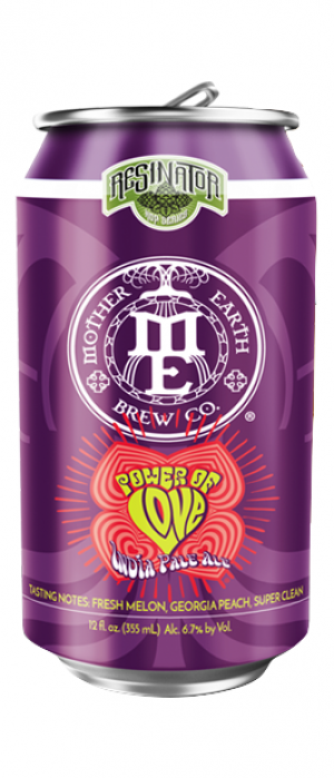 Power of Love IPA by Mother Earth Brew Co. in California, United States
