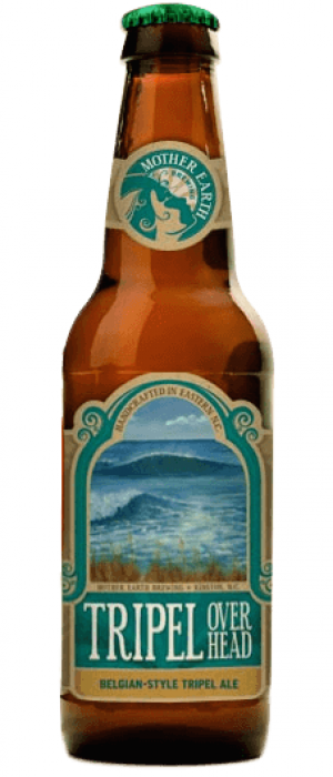 Tripel Overhead by Mother Earth Brewing Company in North Carolina, United States