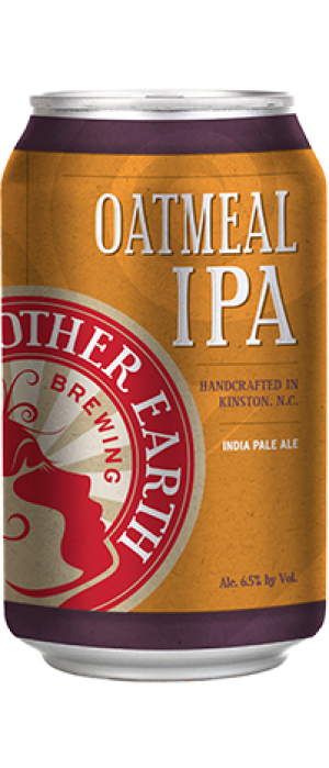 Oatmeal IPA by Mother Earth Brewing Company in North Carolina, United States