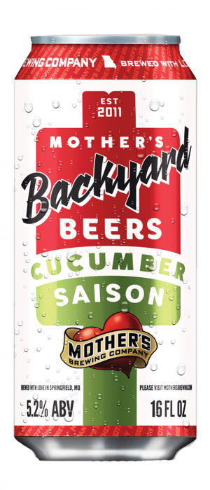 Cucumber Saison by Mother's Brewing Company in Missouri, United States