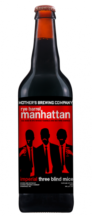 Rye Manhattan Imperial 3BM by Mother's Brewing Company in Missouri, United States