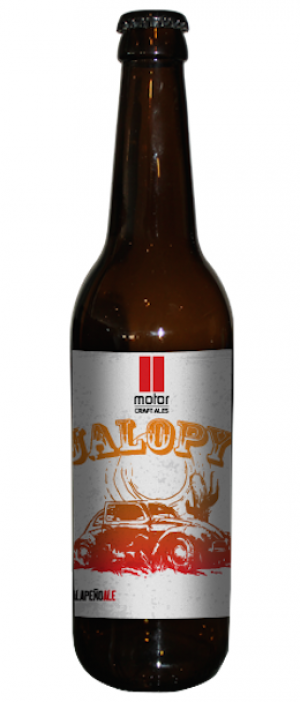 Jalopy Jalapeño Ale by Motor Craft Ales in Ontario, Canada