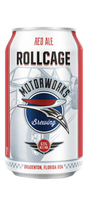 Rollcage Red Ale by Motorworks Brewing in Florida, United States
