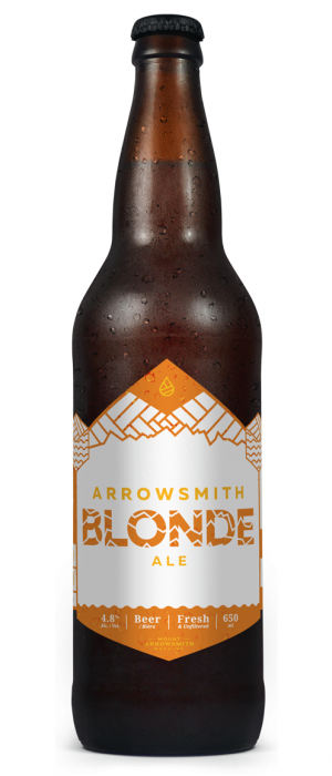 Arrowsmith Blonde by Mount Arrowsmith Brewing Company in British Columbia, Canada