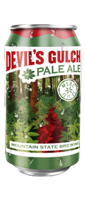 Devil's Gulch Pale Ale by Mountain State Brewing Co. in West Virginia, United States