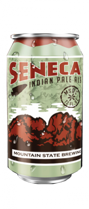 Seneca IPA by Mountain State Brewing Co. in West Virginia, United States