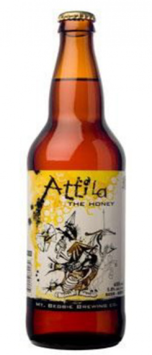 Attila the Honey by Mt. Begbie Brewing Co. in British Columbia, Canada