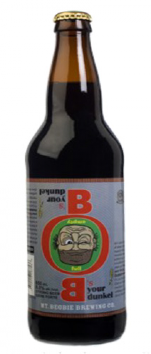 Bob's Your Dunkel by Mt. Begbie Brewing Co. in British Columbia, Canada
