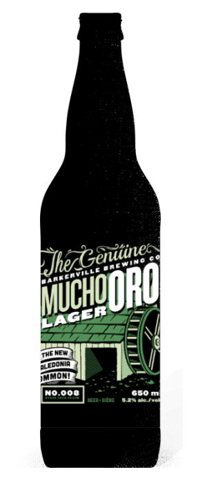 Mucho Oro by Barkerville Brewing Co. in British Columbia, Canada