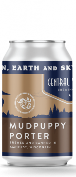 Mudpuppy Porter by Central Waters Brewing Company in Wisconsin, United States