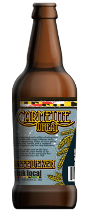 Carmelite Wheat by Mully's Brewery in Maryland, United States
