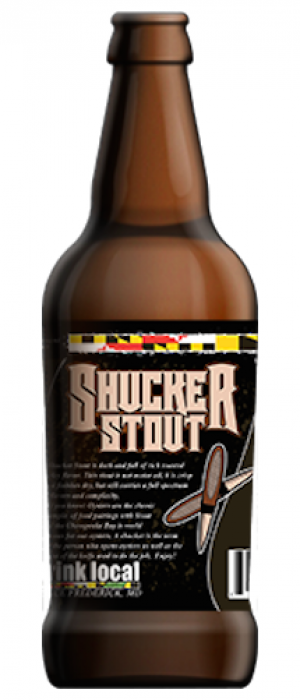 Shucker Stout by Mully's Brewery in Maryland, United States