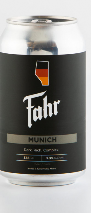 Munich by Brauerei Fahr in Alberta, Canada