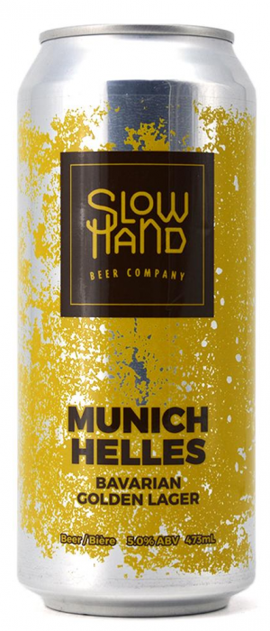 Munich Helles by Slow Hand Beer Company in British Columbia, Canada