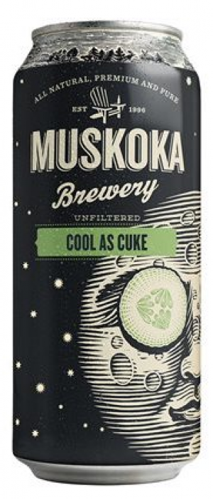 Cool As Cuke by Muskoka Brewery in Ontario, Canada