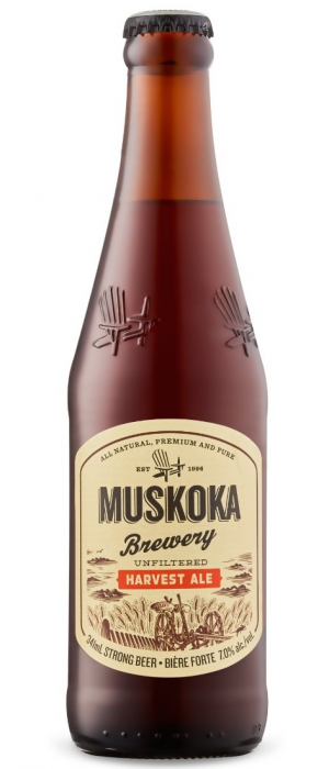 Harvest Ale by Muskoka Brewery in Ontario, Canada
