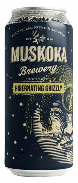 Hibernating Grizzly Grisette by Muskoka Brewery in Ontario, Canada